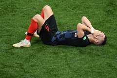 Croatia thở phào với chấn thương của Ivan Perisic