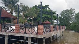Doanh nghiệp xây resort chiếm 'đất vàng' sông Hậu, xử phạt vẫn...trên giấy