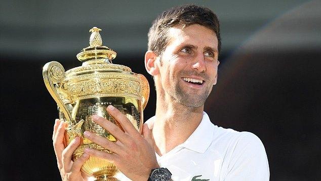 Novak Djokovic,Kevin Anderson,Wimbledon 2018