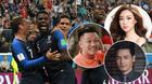 Sao Việt vỡ oà sung sướng khi Pháp vô địch World Cup 2018