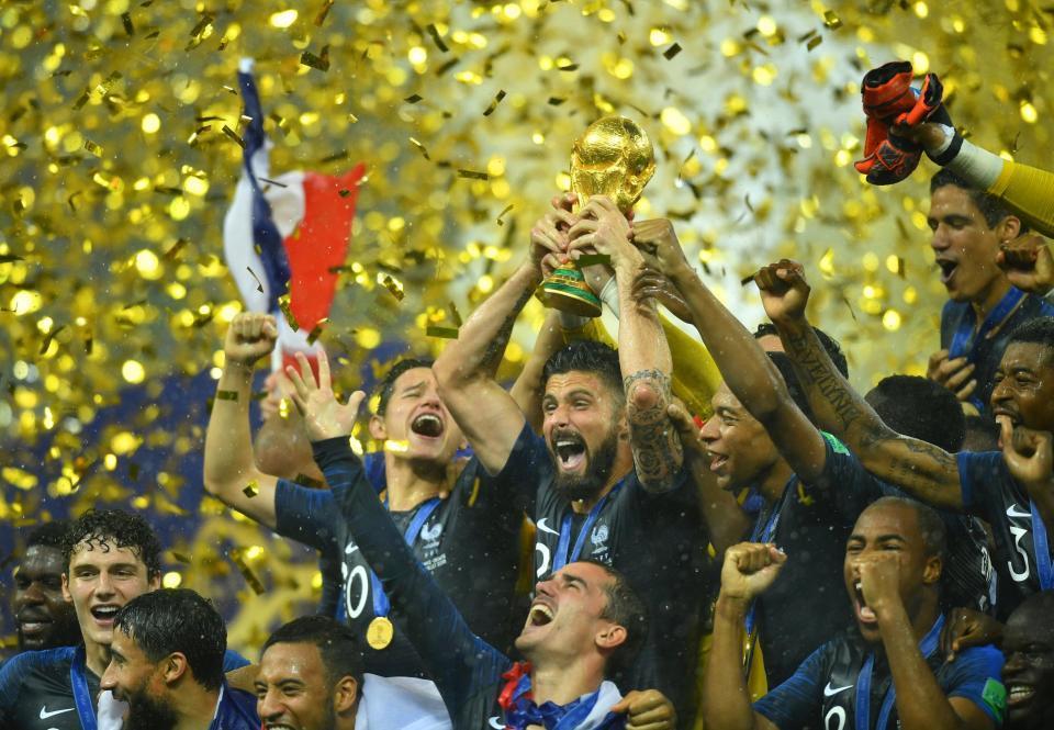 Giroud rời World Cup 2018 với kỷ lục đáng quên