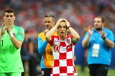"""Luka Modric: """"Croatia chơi hay hơn Pháp trận chung kết"""""""
