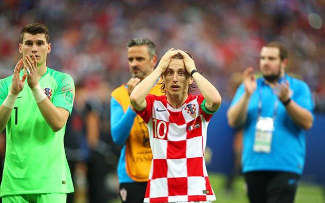 Luka Modric: 'Croatia chơi hay hơn Pháp trận chung kết'