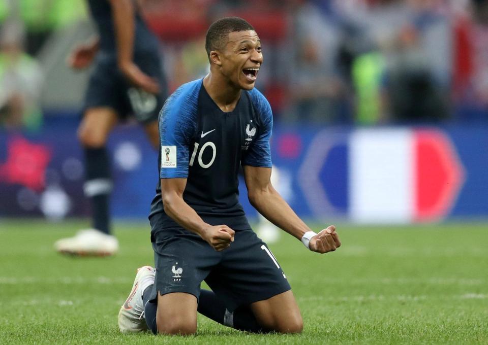 Mbappe,Kylian Mbappe,Pháp,Pháp vô địch World Cup 2018,Croatia