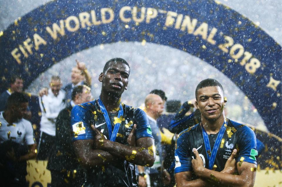 Pogba người truyền lửa, 'sao' MU hay nhất World Cup 2018