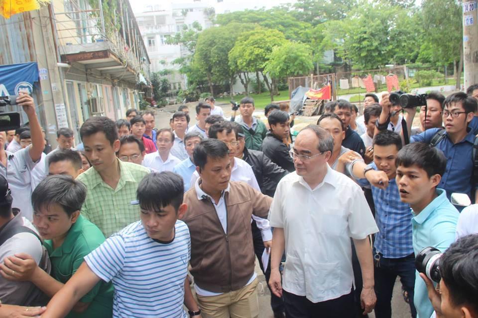 TP.HCM,Thủ Thiêm,khu đô thị Thủ Thiêm,Nguyễn Thiện Nhân,cử tri
