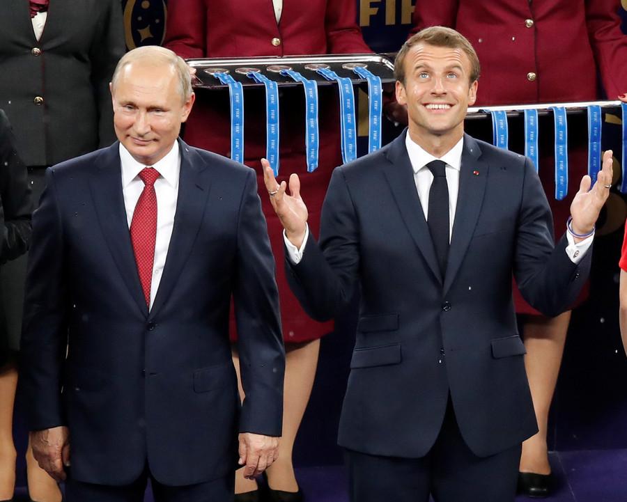 Tổng thống Pháp,đội tuyển Pháp,World Cup 2018