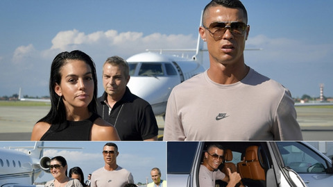 Ronaldo đến Italia