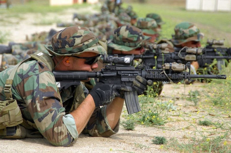 Hình ảnh 'siêu phàm' của lính đặc nhiệm SEAL Mỹ