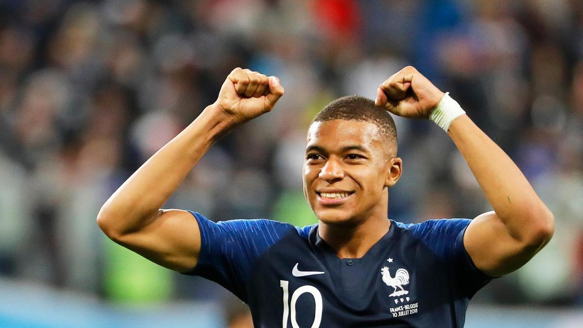 Pháp,Croatia,Bỉ,World Cup 2018,Mbappe,Modric,Griezmann
