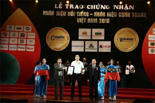 HVC Group - 2 năm liền đạt 'Nhãn hiệu nổi tiếng Việt Nam'