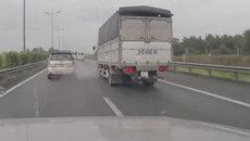 Xe tải nổ lốp trên cao tốc nguy hiểm như thế nào?