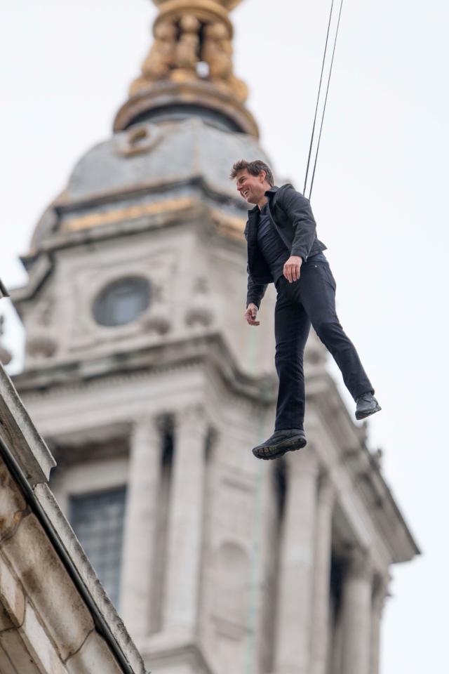 Hậu trường nghẹt thở 'Nhiệm vụ bất khả thi 6' của Tom Cruise