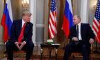 Hình ảnh hai ông Trump và Putin gặp nhau tại Phần Lan