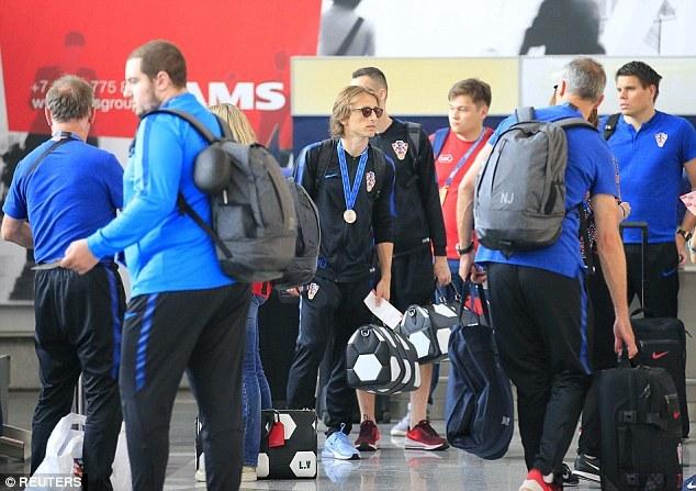 Croatia,Pháp,Modric