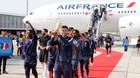 Nhà vô địch World Cup về nước, diễu hành ăn mừng hoành tráng