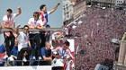 Dàn sao Croatia được chào đón như những người hùng