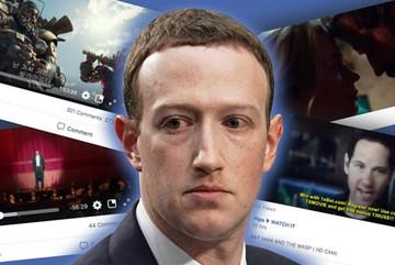 Bị tố là nguồn phát tán phim lậu, Facebook phủi trách nhiệm
