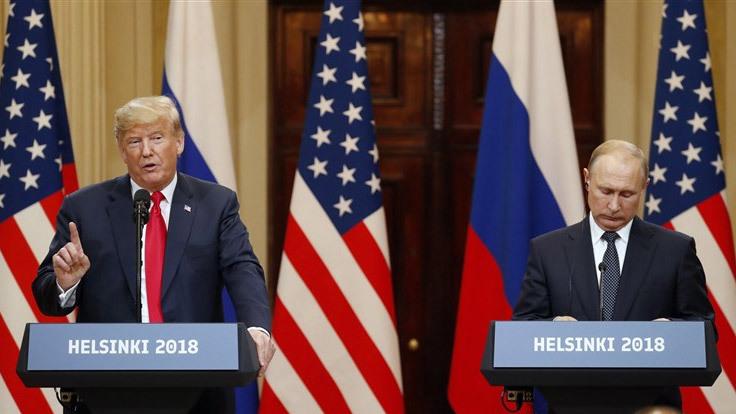Ông Trump 'hứng bão' sau thượng đỉnh với Putin