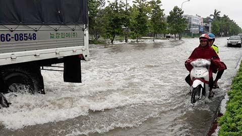 Mưa lụt ở Nghệ An
