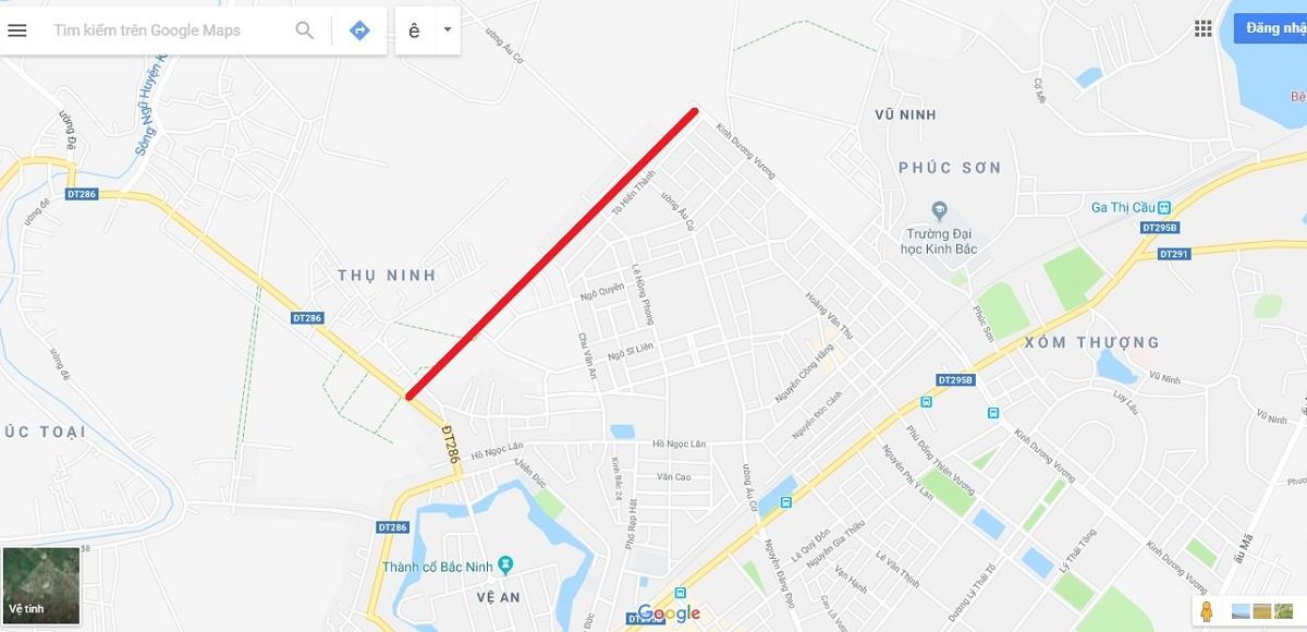 Bắc Ninh: Đổi gần 100ha đất cho Dabaco lấy 1,39km đường