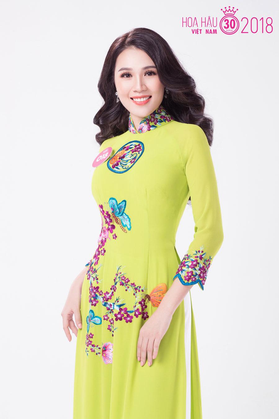 Thí sinh Hoa hậu Việt Nam khoe đường cong mềm mại