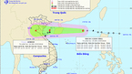 Bão Sơn Tinh sắp đổ bộ vào các tỉnh Hải Phòng đến Hà Tĩnh