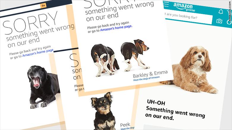 Giảm giá quá sốc, Amazon sập website vì dân mạng tranh mua