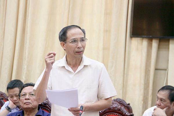 Hợp nhất HN: Nguyên Phó bí thư Thành ủy 'bắt bệnh' tùy tiện chỉnh quy hoạch