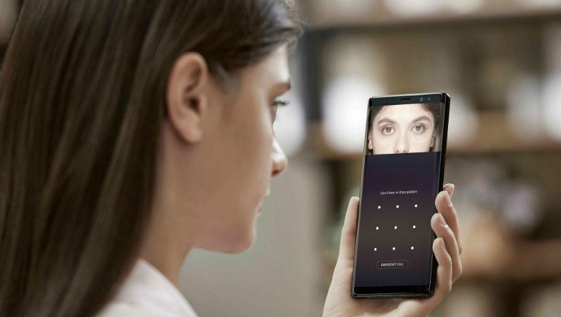 Công nghệ quét mống mắt được Samsung đưa vào smartphone giá rẻ
