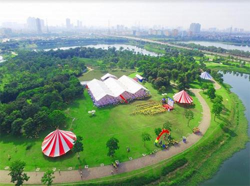 Không gian sống xanh đẳng cấp ở Gamuda City