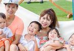 Vợ Lý Hải lên tiếng về cách nuôi bốn con tránh lãng phí