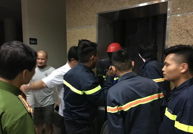 thang máy,sự cố thang máy,Thanh Hóa