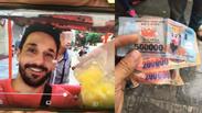 Hà Nội: Anh lái xích lô trả lại du khách Pháp gần 1 triệu tiền âm phủ