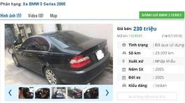 Chiếc ô tô BMW cũ này được rao bán tầm giá 200 triệu, có nên mua?