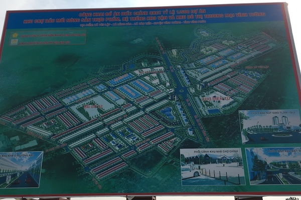 'Siêu' dự án ở Vĩnh Phúc vừa giao đất đã phân lô bán nền tiền tỷ