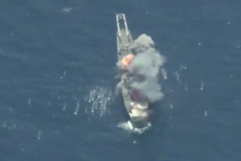 Màn tập đánh chìm tàu chiến ngoạn mục của Mỹ và đồng minh
