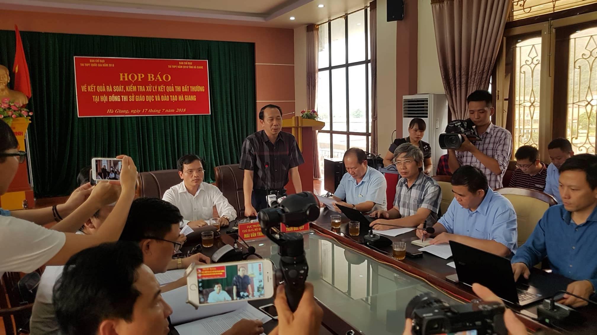 điểm thi bất thường ở Hà Giang,Hà Giang,Thi THPT quốc gia,gian lận thi cử