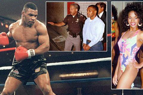 """Bê bối hiếp dâm nhấn chìm sự nghiệp """"võ sĩ thép"""" Mike Tyson"""