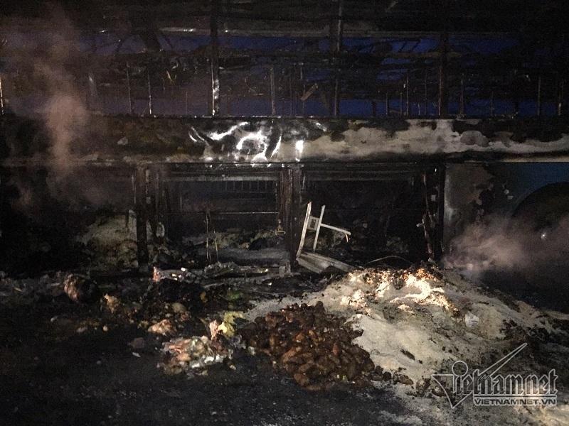 cháy xe khách,tai nạn giao thông,Thừa thiên Huế,tai nạn