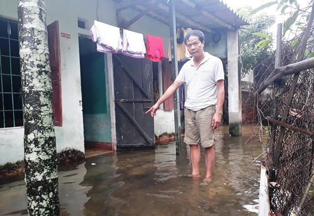 Thanh Hóa ngập trắng nhiều nơi sau bão số 3