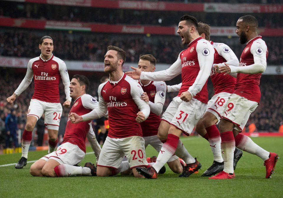 Lịch thi đấu giao hữu mùa Hè 2018 của Arsenal