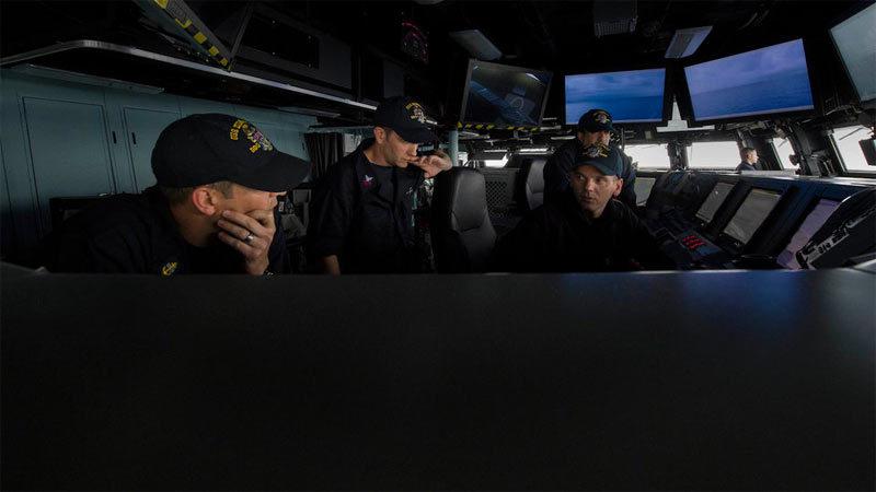 Khám phá tàu khu trục siêu khủng của Hải quân Mỹ