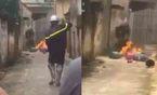 Hà Nội: Con rể mang 4 bình gas đến nhà bố vợ châm lửa đốt
