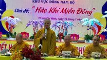 Hội trại Tuổi trẻ và Phật giáo: Hào khí miền Đông