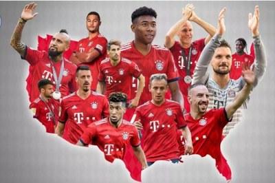 Lịch thi đấu giao hữu mùa Hè 2018 của Bayern Munich