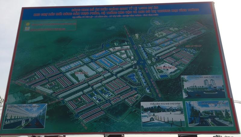 khu đô thị Thương mại Vĩnh Tường,siêu dự án,Công ty Đầu tư thương mại và bất động sản Thăng Lo,phân lô,bán nền,Vĩnh Phúc
