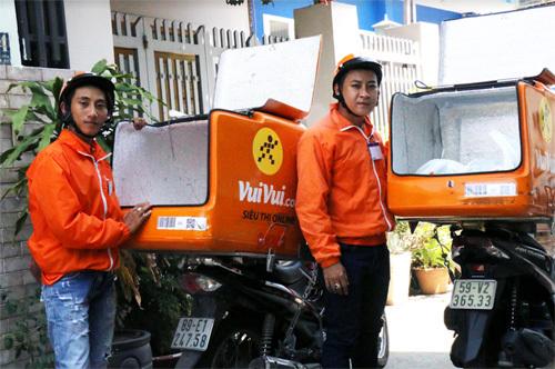 Vuivui.com tuyển nhân viên giao hàng