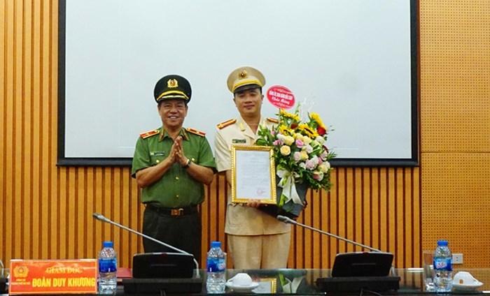 Công bố quyết định nhân sự của Tổng cục Chính trị Công an nhân dân