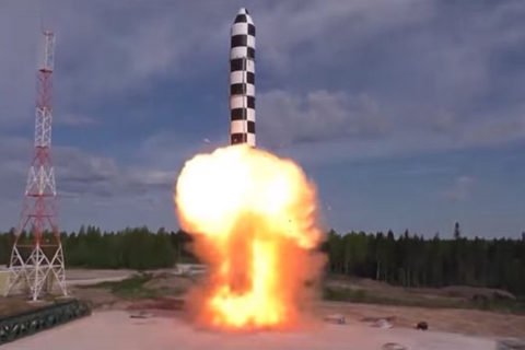 ICBM RS-28 Sarmat